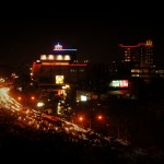 2012 09 05 Night View from Vio Hotel Bandung