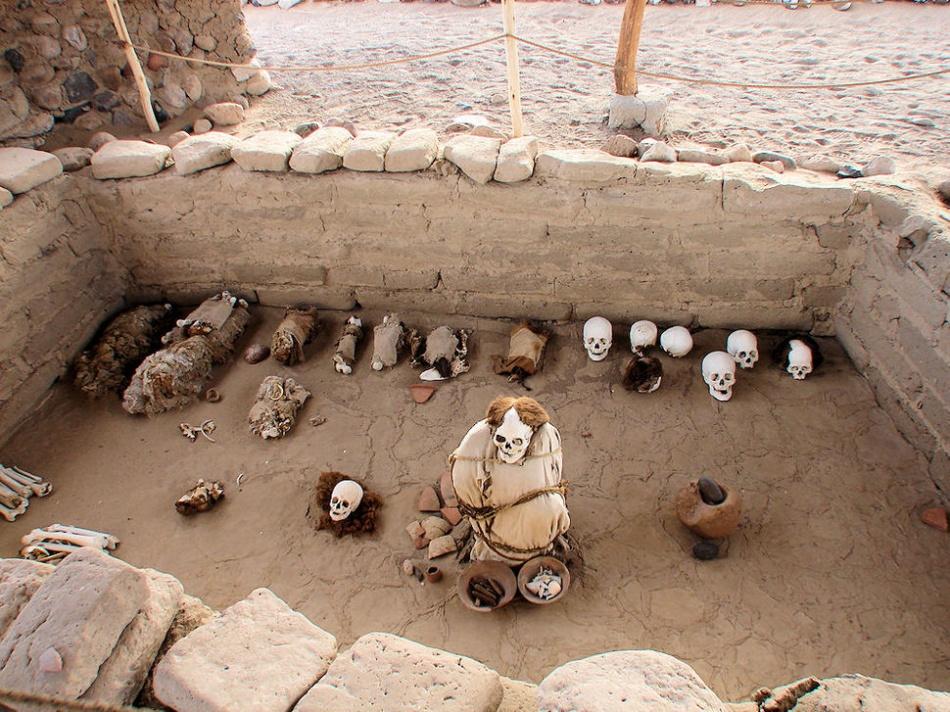 Kuburan Chacuchilla di Peru | delange.org