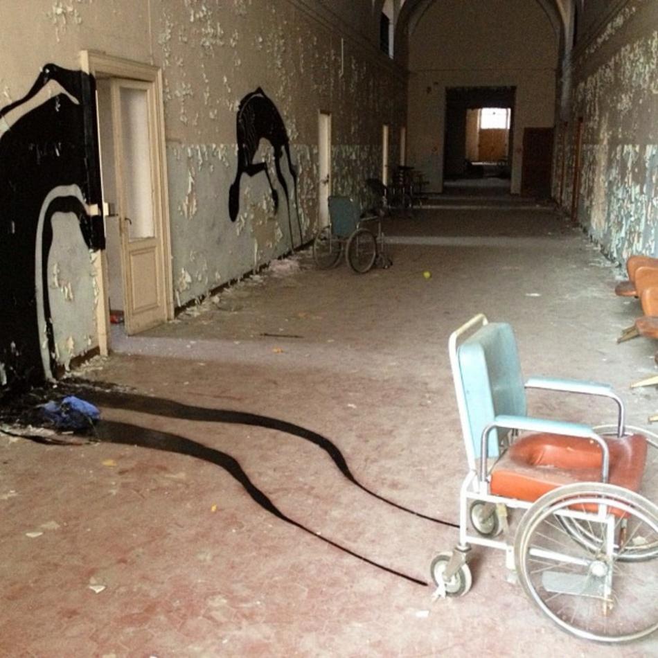Rumah Sakit Jiwa yang Ditelantarkan Parma Italia | arrestedmotion.com
