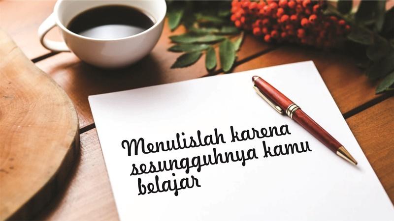 menulislah