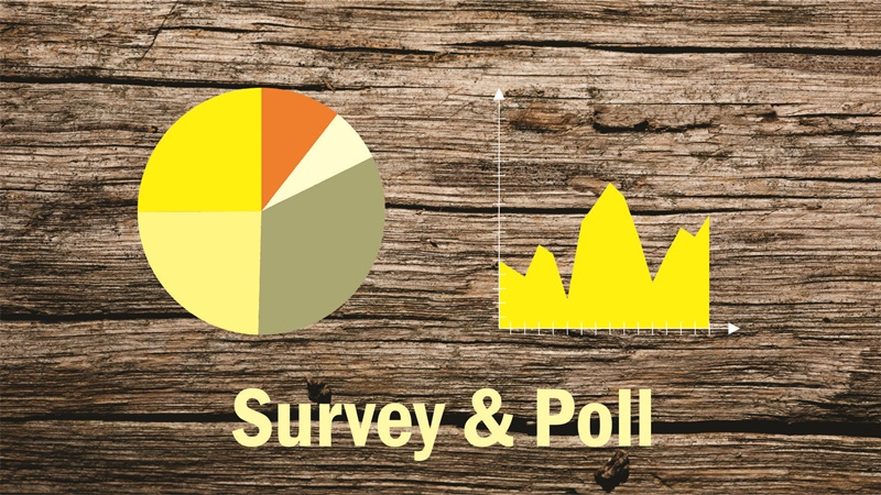 survey and poll