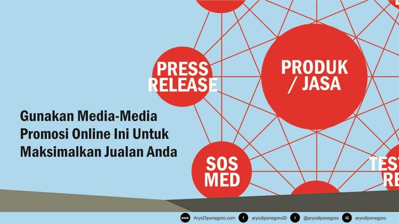 Gunakan Media-Media Online Ini Untuk Jualan Anda