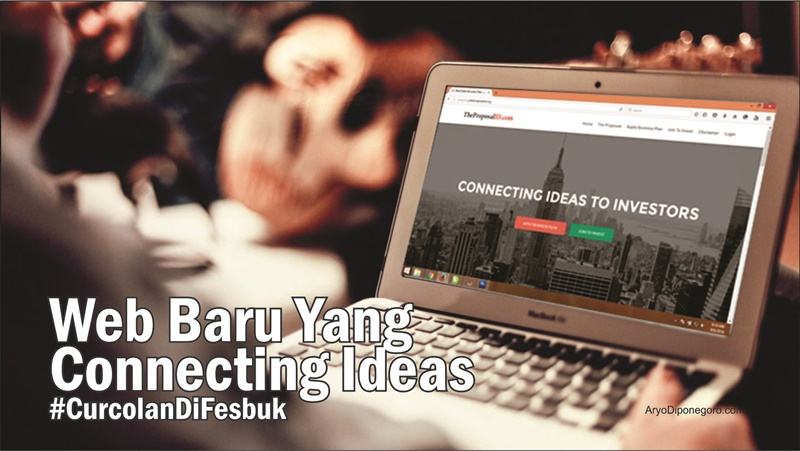 Web Baru Yang Connecting Ideas #CurcolanDiFesbuk